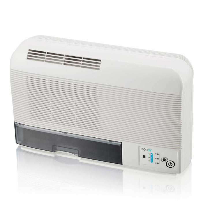 EcoAir DCW10 Wall Mount /Free Standing Dehumidifier, 10L per day - Certified Refurbished - Like New
