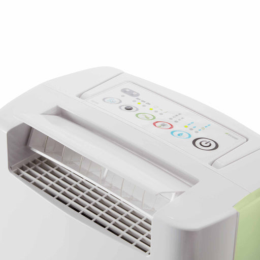 EcoAir DD128 Desiccant Dehumidifier with Ioniser and nano silver filter 8L per day - Green