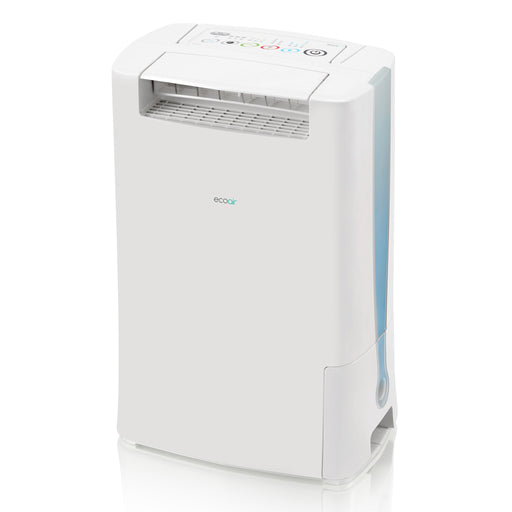 EcoAir DD128 Desiccant Dehumidifier with Ioniser and IonPure Filter 8L per day - Blue