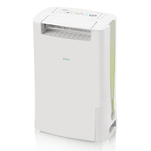 EcoAir DD128 Desiccant Dehumidifier with Ioniser and IonPure Filter 8L per day - Green