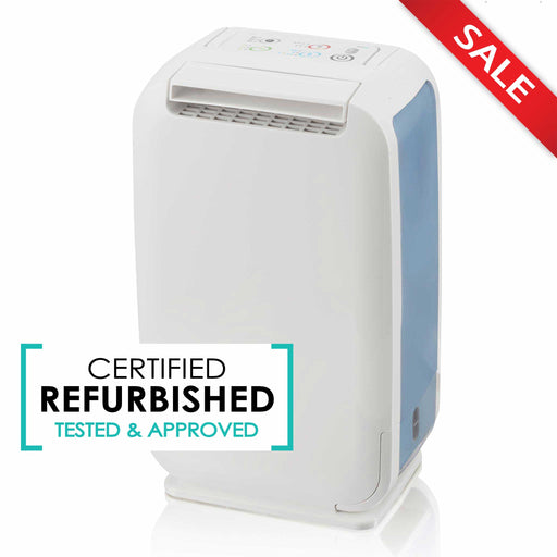 EcoAir DD1 Mini Compact Desiccant Dehumidifier, 6L - Certified Refurbished