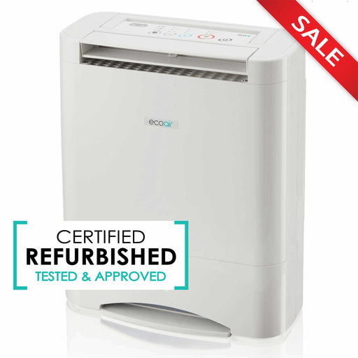 EcoAir DD3 Classic Desiccant Dehumidifier, 10L - Certified Refurbished - Good