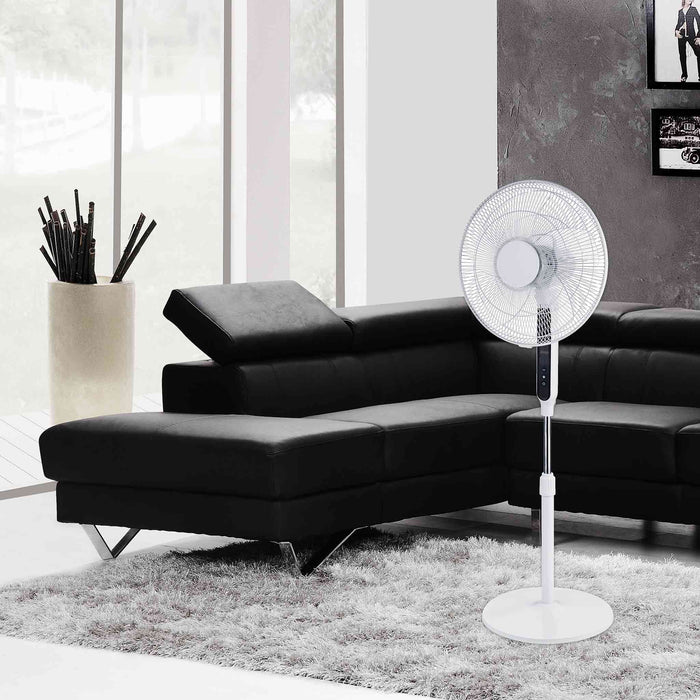 "EcoAir Equinox - 16"" DC Fan - Low Power Consumption 3.5Watts / hour ONLY"