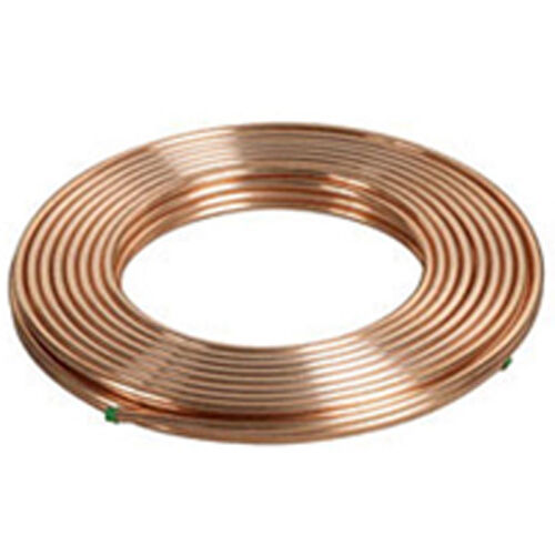 Copper Coil 1/4 - 15 or 30 Meter Soft