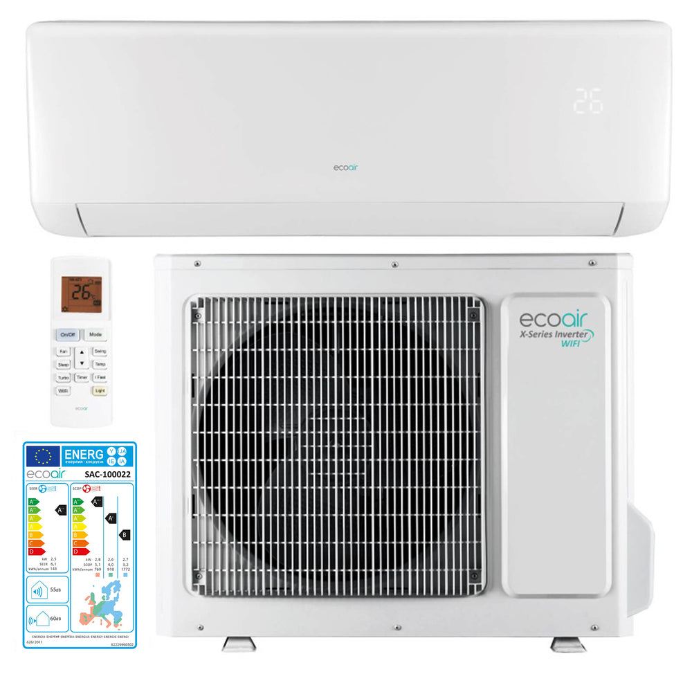 920SD Inverter Air Conditioning 9000BTU WiFi X Series