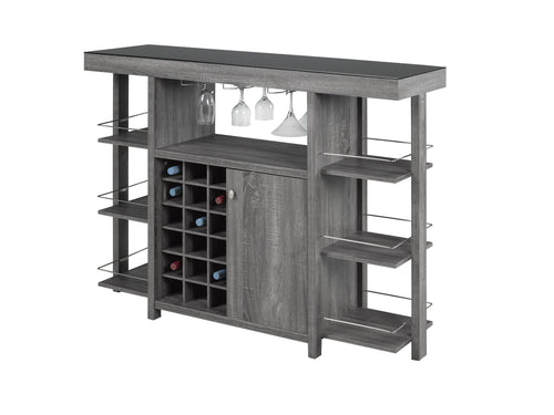 Martini Bar Unit - Dark Grey
