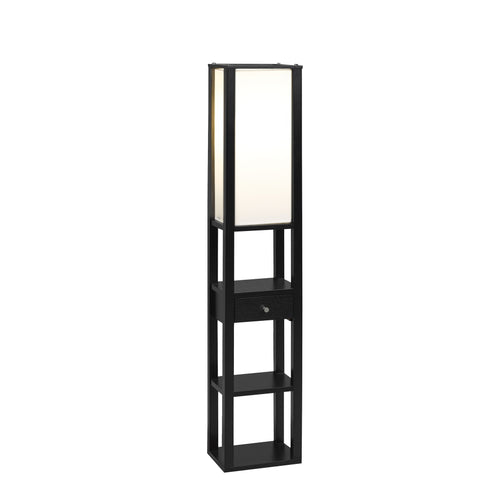 Candace & Basil Furniture |  Osaka Floor Lamp (Black)