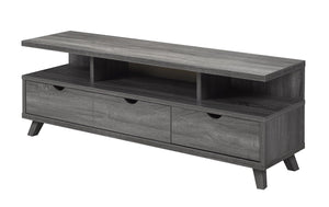 "Candace & Basil Furniture |  60"" TV Stand - Grey"