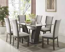 "Load image into Gallery viewer, Ambrose 72"" Dining Table - Grey"