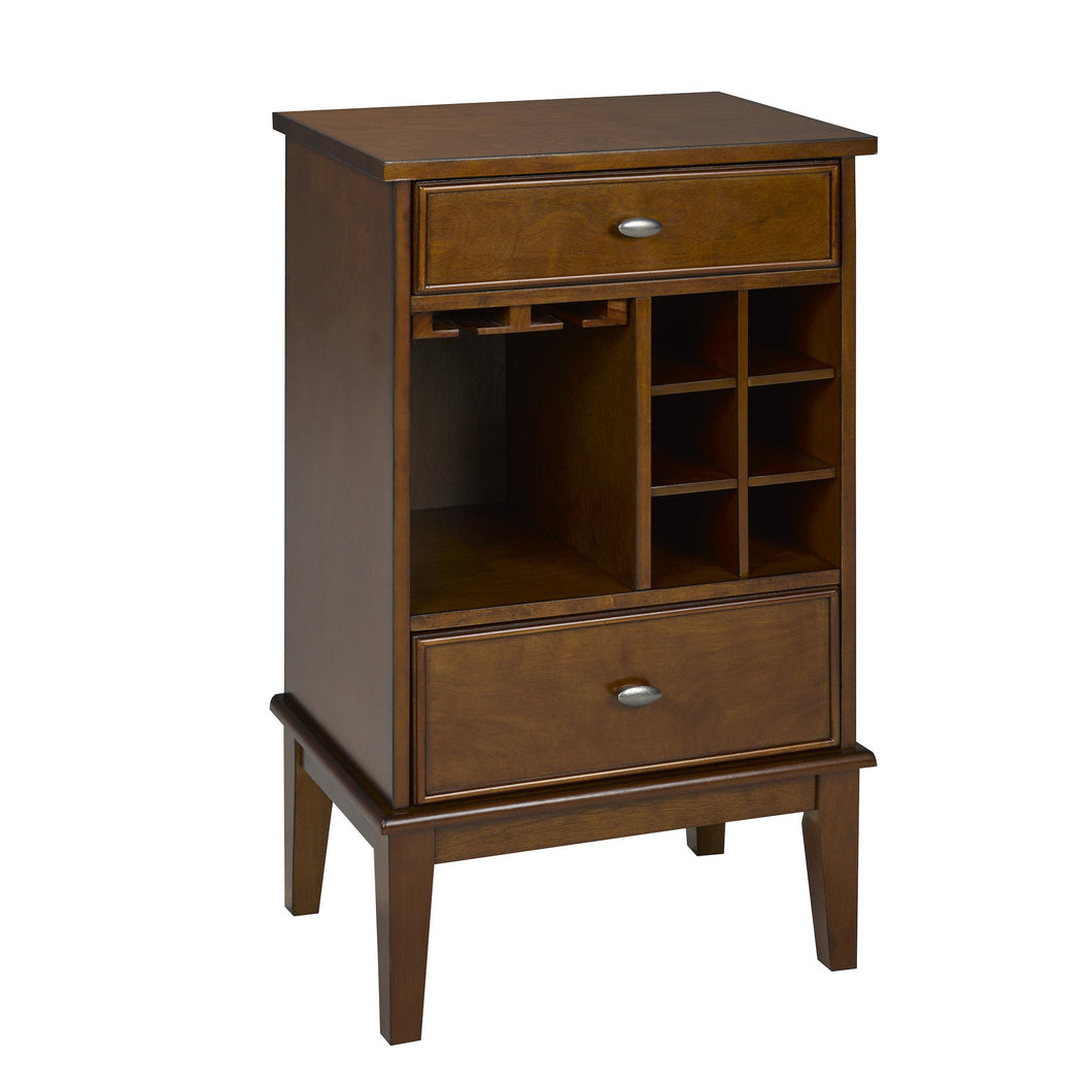 Candace & Basil Furniture |  Solid Birch Wood Wine Cabinet