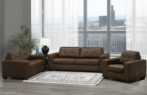 Skylar Sofa Series - Brown