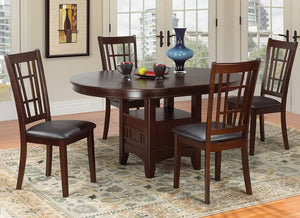 Candace & Basil Furniture |  Oregon 5pc Dining Set (Table + 4 Chairs)