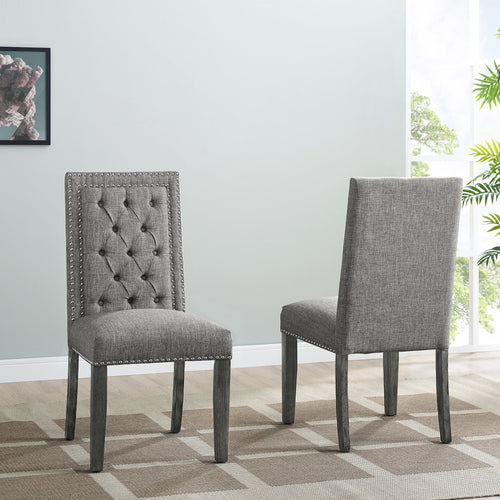 Brooklyn Dining Chairs (Set of 2) - Light Grey