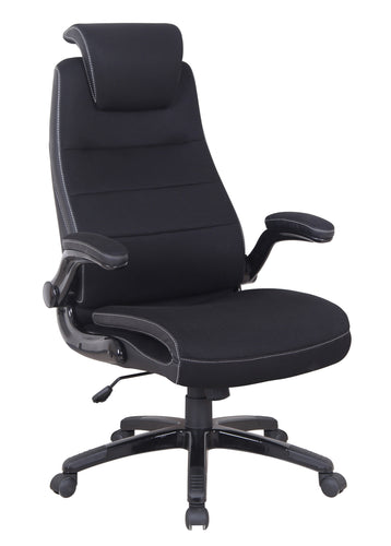 Candace & Basil Furniture |  Dual Adjustable Office Chair with Gas Lift - Black
