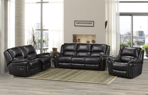Candace & Basil Furniture |  Hilton Recliner Series - Chocolate