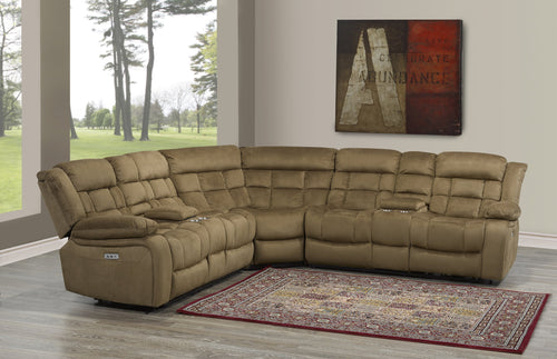 Isabella Power Reclining Sectional