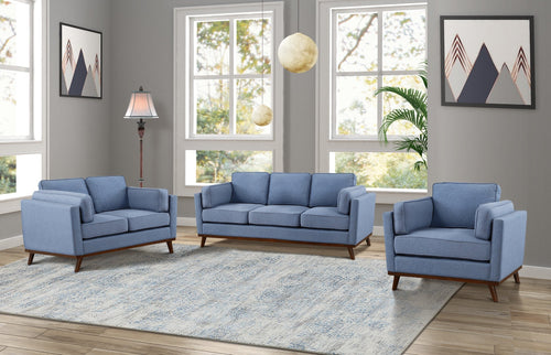 Woodstock Sofa Series - Blue