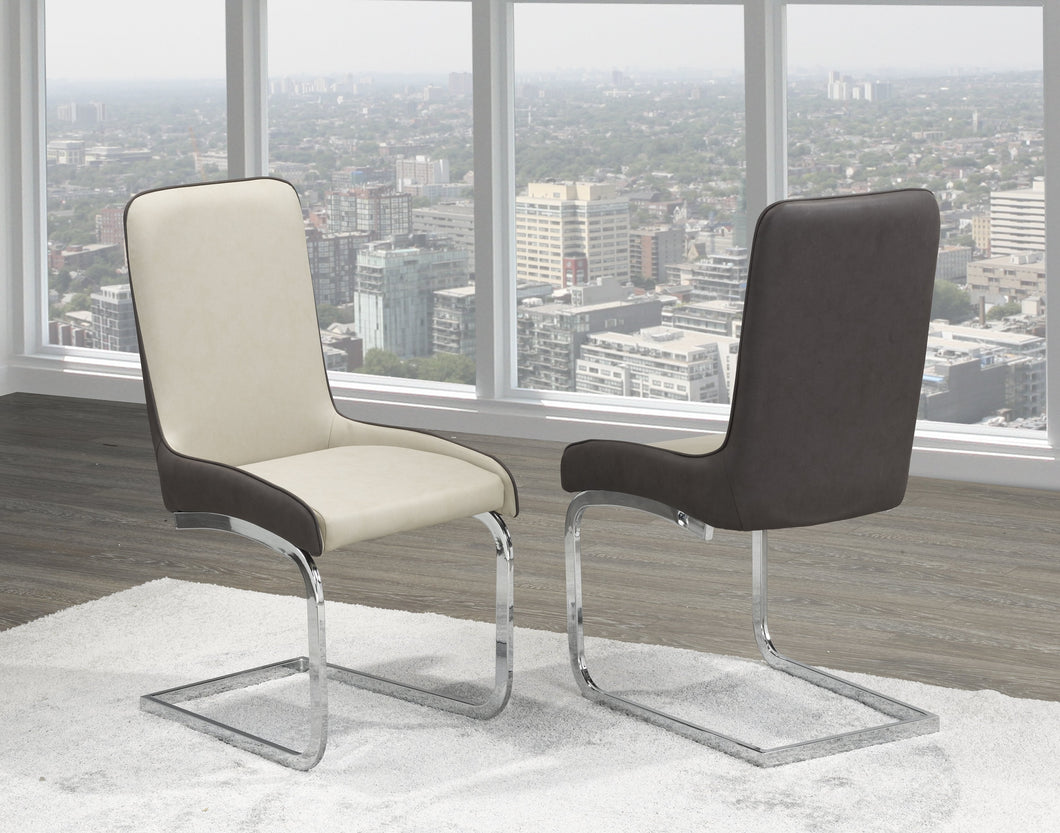 Donatello Dining Chair (Set of 2) - Two Tone