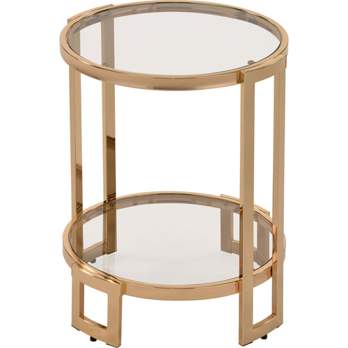 Candace & Basil Furniture |  Accent Table - Gold