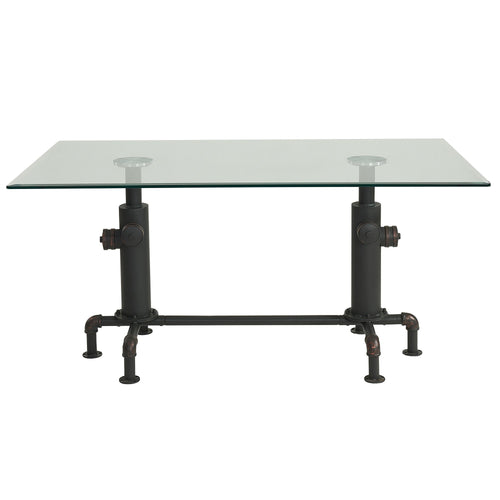 Candace & Basil Furniture |  Dining Table - Antique Black