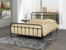 Load image into Gallery viewer, Jeremiah Queen Platform Bed - Black Metal