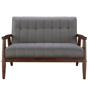 Candace & Basil Furniture |  Double Bench - Grey