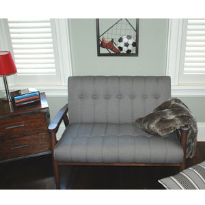 Double Bench - Grey