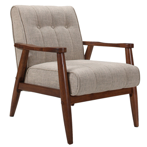 Candace & Basil Furniture |  Accent Chair - Khaki