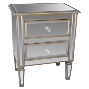 Candace & Basil Furniture |  Accent Table - Antique Silver