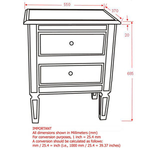 Accent Table - Antique Silver