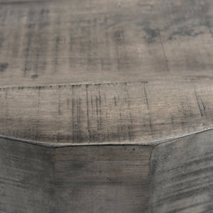 Accent Table - Distressed Grey