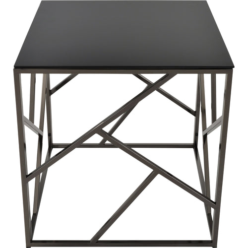 Candace & Basil Furniture |  Accent Table - Black Nickel