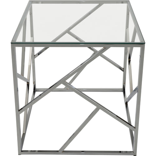 Candace & Basil Furniture |  Accent Table - Chrome