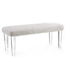 Load image into Gallery viewer, Candace & Basil Furniture |  Double Bench - White