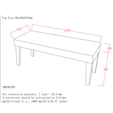 Load image into Gallery viewer, Double Bench - White