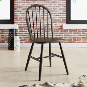 Side Chair - Gunmetal (Set Of 2)