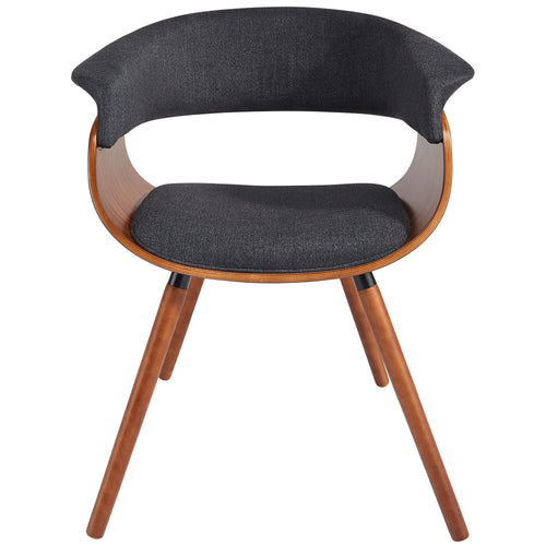 Candace & Basil Furniture |  Accent Chair - Charcoal Grey
