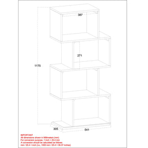 Shelving Unit - Grey