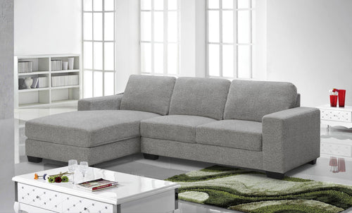 Ossington LHF Sectional - Grey