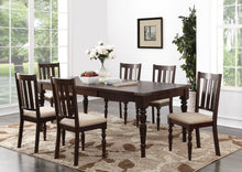 "Load image into Gallery viewer, Claudia 7PC Dining Set w/ 18"" Leaf"