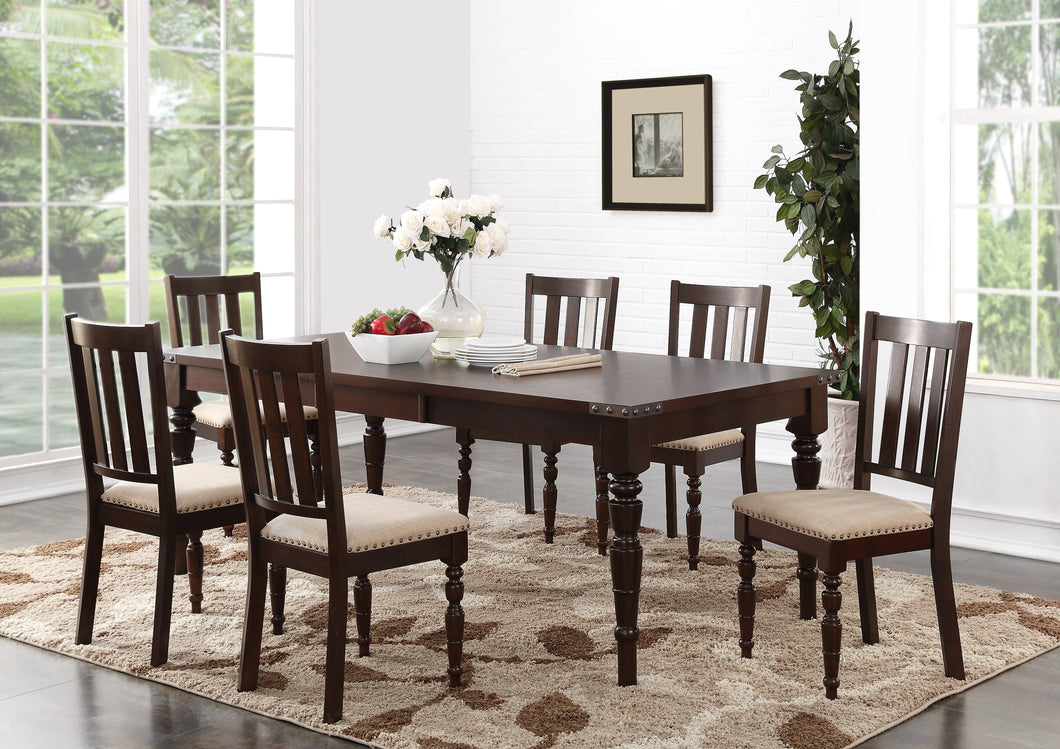 Claudia 7PC Dining Set w/ 18
