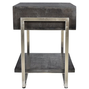 Accent Table - Dark Grey