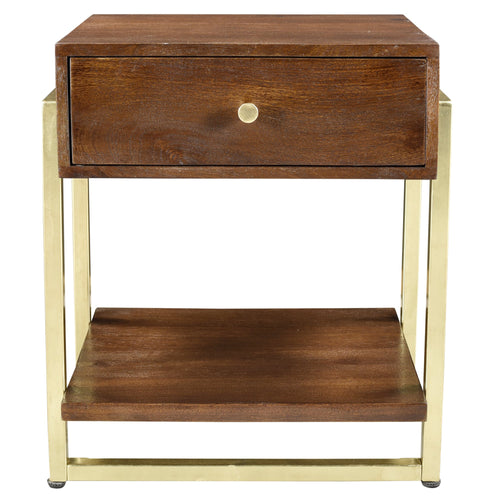Candace & Basil Furniture |  Accent Table - Walnut