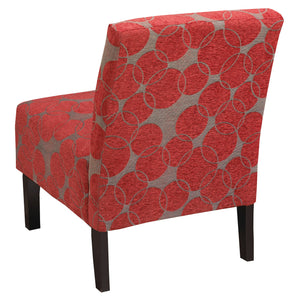 Accent Chair - Red