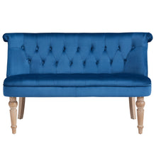 Load image into Gallery viewer, Candace & Basil Furniture |  Settee - Blue