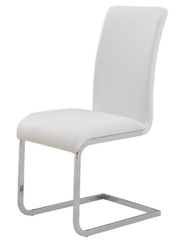 Candace & Basil Furniture |  Side Chair - White (Set Of 2)