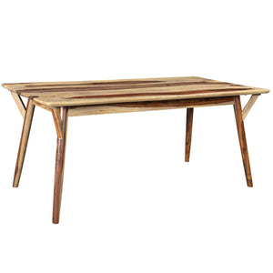 Candace & Basil Furniture |  Rect. Dining Table - Sheesham