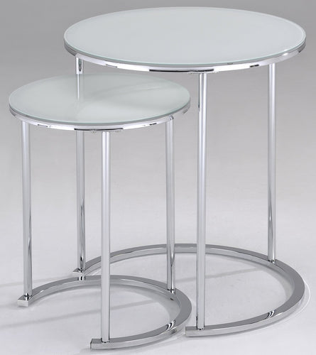 Candace & Basil Furniture |  2Pc Accent Table - White