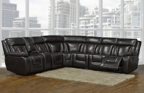 Candace & Basil Furniture |  Hudson Sectional - Chocolate