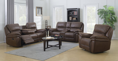 Moby Power Reclining Series - Chocolate